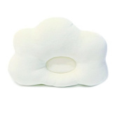 Fostly Cute Baby Pillow Cloud Shape Pillow Infants Prevent Flat Head Bedding Pillows For Baby Toddler Sleeping