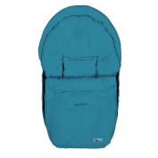 Altabebe Summer Footmuff for Car Seat, Turquoise