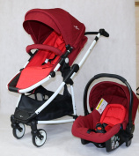 ROYAL KIDDY LONDON © Euphoria 2 In 1 Portable Baby Stroller with Carseat and Free Accessories