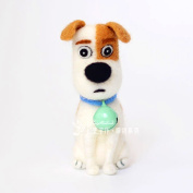 YSZ Needle Felting Kits for Beginners Merino Wool Roving with Instruction - Jack Russell Terrier Dog 3x5x8cm