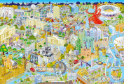 Gibsons London from Above Jigsaw Puzzle, 500 piece
