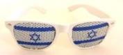 Israel Flag Wayfarer Style Novelty Glasses