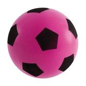17.5cm Sponge Foam Football PINK Soft Outdoor Indoor Kids Fun Play Game Gift Match Light Weight Children Soccer Team Toys Classic