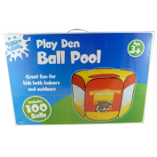 Pop Up Ball Pit For Indoors And Outdoors With 100 Balls