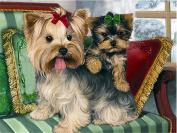 LIPHISFUN 5D DIY Diamond Painting Cute dog Embroidery Full Square Diamond Cross Stitch Rhinestone Mosaic Decor