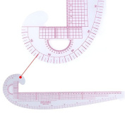 Sewing French Curve Ruler Measure Dressmaking Multifunction Tailor Drawing Tool