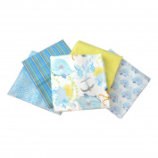 Itty Bitty Boys Cotton Fabric Quarters 5 Pack Fabric Editions IB2