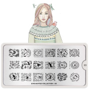 MoYou-London Nail Art Image Plate Enchanted Collection - 03