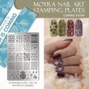 Moyra France Official Shop – Moyra Stamping Plate 57 Winter Is Here
