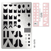 Moyra France Official Shop – Moyra Stamping Plate 60 Cuts