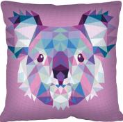 SEG de Paris Tapestry/Needlepoint Kit – Geometric Koala