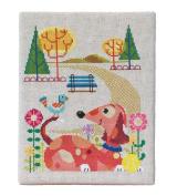 Dog Park Cross Stitch Chart