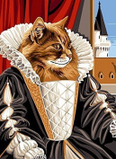 SEG de Paris Tapestry/Needlepoint Canvas – Queen Cat