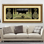 Moresave Religion Muslim Signs Frameless Wall Drawing 5D Diamond Cross Stitch Kits