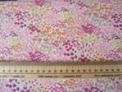 """Moda 2016 Regent Street 33194-11,""""Do you suppose she's a wildflower.""""- Alice in Wonderland. 100% cotton lawn. 50cm x 110cm, multiple orders will be cut in a continuous length."""