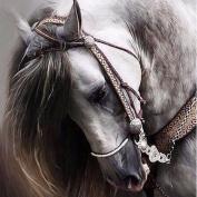 Gemini_mall Horse 5D DIY Diamond Embroidery Painting Mosaic Cross Stitch Diamond Home Decor
