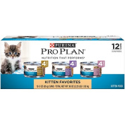 Purina Pro Plan Focus Kitten Canned Cat Food - 24-90ml Cans