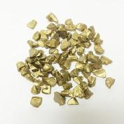Vase Filler Glass Crushed Sand, Gold, 0.5kg bag (8 bags) GGM013GD