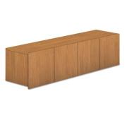 Voi Overhead Cabinet, Four Doors, 60w x 14 1/4d x 14h, Harvest, Sold as 1 Each