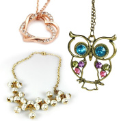 COM-FOUR ® Fashion Jewellery, Perfect for any dress and occasion Halskette - Mix