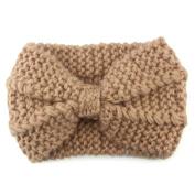 Wokee Creative Women Knit Headband Crochet Winter Warmer Hairband Cute Hair Band Headwrap