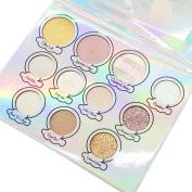Cosmetic Shine Eyeshadow Eye Shadow Makeup Palette