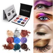9 Colours Matte Long Lasting Colourful Eyeshadow Eye Shadow Press Powder Cosmetics Makeup