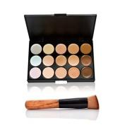 Baleba 15 Colours Makeup Concealer Palette & Brush