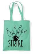 Strike Bowling 1 Statement Tote Bag Shopper