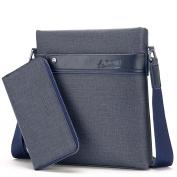 Men's Casual Shoulder Bag Men's Messenger Bag Briefcase Business Purses Satchel Backpack Men's Bags