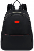 Womens Backpack,COOFIT Black Backpack Satchel Backpack Rucksacks Daypack Casual Nylon Backpack School Bags