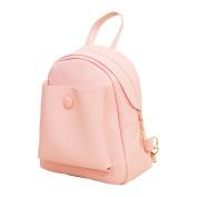 Domybest Mini Backpack School Bag Lovely Women PU Leather Handbag Shoulder Bags
