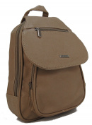 Stefano Women's Backpack Black M2 - Taupe Maße ca. 26 x 31,5 x 7,5 cm
