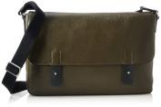Ecco ECCO Ely, Men's Shoulder Bag, Green (Grün (90257), 39x28x8 cm