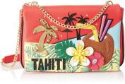 Tua by Braccialini Women's Cartoline Shoulder Bag Multicolour Multicolore