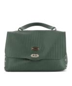 Zanellato Women's 61346051 Green Leather Handbag