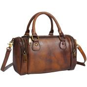 Vintage Leather Menssenger Bag For Women Shoulder Handbag Purse