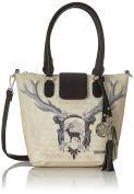 Lady Edelweiss Trachtentasche, Women's Satchel, Mehrfarbig, 13x24x30 cm