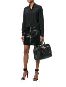 Moschino Women's A742380030555 Black Leather Handbag