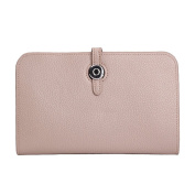 MuLier Womens Wallet Geunine Leather Phone Purse Credit Card Clutch