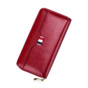 MuLier Luxury Women's Leather Phone Wallet Zipper Ladies Clutch