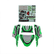 Redcat Racing Lexan Body Panels, Green