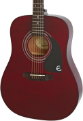 Epiphone EAPRWRCH1-15 Acoustic Guitar, Wine Red