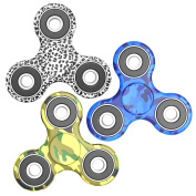 LUSCREAL Fidget Spinner [Anti Anxiety] Colourful Figit Hand Toy for Relieving Boredom ADHD Autism