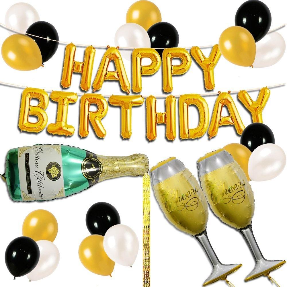 UTOPP Happy Birthday Letter Party Balloons BannerTheme