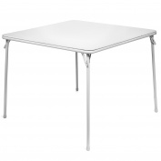 XL Series 100cm Square Folding Card and Game Table, Extra Large, Wheelchair Accessible