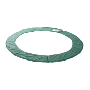 HOMCOM 3m Replacement Trampoline Pad Thick Foam Safety Spring Cover Bounce Padding - Green