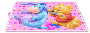 Stor, 39716, Placemat Winne the Pooh, Pink, BPA Free