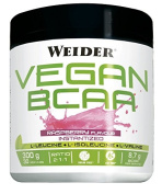 Weider Vegan BCAA Amino Acids for Growth and Maintenance Muscles Raspberry Flavour 300 g