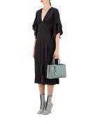 Fendi Women's 8BH2533WLF10XN Light Blue Leather Handbag